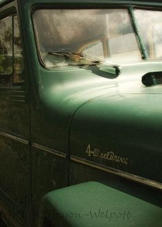 Jeep Photograph Willys Wagon Old Truck Art by MollysMuses on Etsy