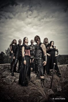 Battlelore is a metal band from Lappeenranta, Finland. Battlelore's songs are all centered around J. R. R. Tolkien's Middle-earth.   J. Vahvanen and M. Kokkola founded Battlelore in 1999 and in 2000, introduced new Battlelore members; Kaisa Jouhki as the new female vocalist, Henri Vahvanen as the drummer and Maria Honkanen as the keyboard player and flutist.