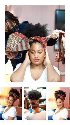 Tapered Natural Hair, Natural Hair Care, Natural Hair Styles, African Hair Wrap, African Head Wraps, Black Girl Braided Hairstyles, Scarf Hairstyles, Curly Hair Tips, Curly Hair Styles