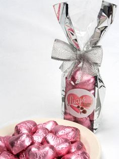 Lucy's Milk Chocolate Truffle Hearts Goodie Bag   LucyStore.com, $8.95
