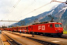 HGe 4/4 II 101 (Foto: Christian Wiedhofer) Locomotive, Christian, Train, Vehicles, Photo Illustration, Zug, Rolling Stock, Christians, Locs