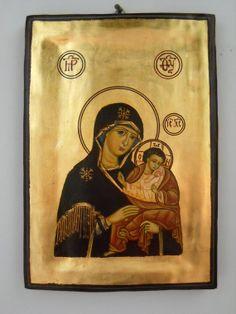 Madonna with Child JesusRussian Byzantine Icon by DeniseClemenco, $150.00