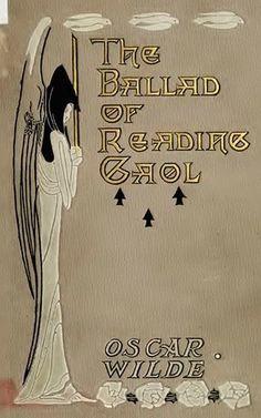 ≈ Beautiful Antique Books ≈  Art Nouveau book binding for Oscar Wilde's The Ballad of Reading Gaol