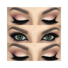 Pin by R.M.I. on Makeup | Pinterest | Eye Makeup, Eyes and Makeup... ❤ liked on Polyvore featuring beauty products, makeup and eye makeup