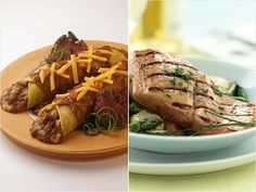Choose Foods Lower in Cholesterol: Bean and Cheese Enchiladas vs. Grilled Salmon