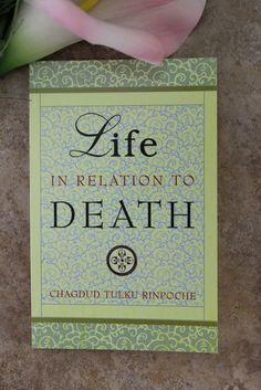 Dharmashop.com - Life in Relation to Death, $10.95 (http://www.dharmashop.com/life-in-relation-to-death/)