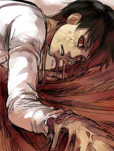 Eren エレン from Attack on Titan (Shingeki no Kyojin)