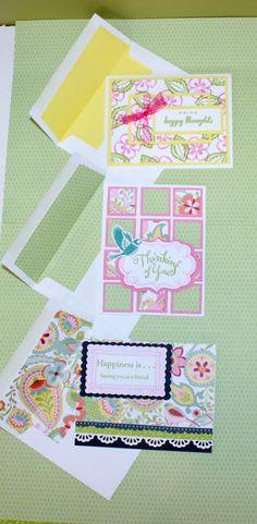 Mrs. Bag Lady: Chantilly Card Kit/Workshop