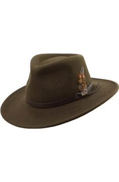 4b30235f938ad Free shipping and returns on Scala  Classico  Crushable Felt Safari Hat at  Nordstrom.