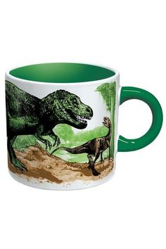 Unemployed Philosophers Guild Disappearing Dinosaur Mug (it's skeletons when it's empty)