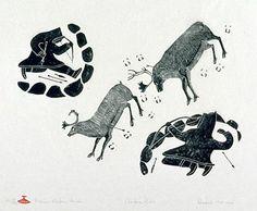 bellebyrd: inuit stone prints