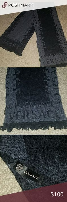 Versace scarf AUTHENTIC Versace scarf excellent condition barely worn. Women's and men's scarf. Versace Accessories Scarves & Wraps