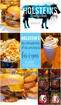 Holstein's Burgers {Las Vegas} - great burgers and shakes on the Las Vegas strip! Located on the second level at the Cosmopolitan hotel and casino. A must if you are in Vegas.