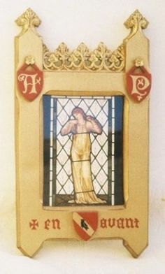 new AWN Pugin carved gilded gold painted picture frame in gold finish