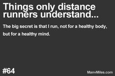 Things only runners understand…          Running = a fix for your brain. More: Things only runners understand… Plus: Essential running tips
