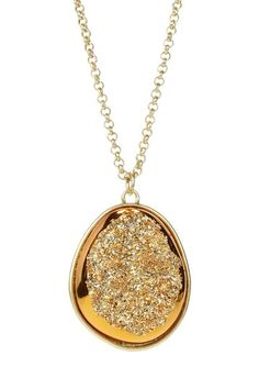 fun gold pendant