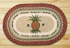 Pineapple Printed Area Rug