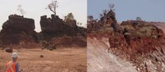 AUSTRALIANS LOSE SACRED SITE FOREVER, MINING COMPANY FINED $ 150K  The Kunapa people have lost one of their sacred sites forever, but the company that destroyed it is the first time a charge of desecration has been contested and won in Australia.