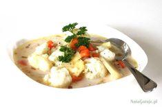 Delikatna zupa z kalafiorem, 1 Risotto, Ethnic Recipes, Food, Meals
