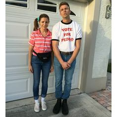 Couples Halloween costumes are all about the cute, creative, and clever ideas that perfectly represent you and your partner. Unique costumes are as fun to put - Calling All Couples! These Unique 2019 Halloween Costume Ideas Are Creative and Cute to Boot Unique Couple Halloween Costumes, Cute Couple Halloween Costumes, Unique Costumes, Halloween Kostüm, Halloween Outfits, Costume Ideas, Halloween Recipe, Women Halloween, Halloween Couples