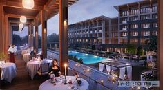 New post for 3D rendering -- Hotel