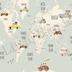 Little Munnies Racers World Map