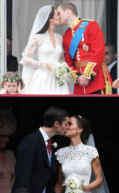 0eeec13bf23b 8 Photos From Pippa Middleton s Wedding That Are Exactly the Same as Kate  Middleton s Wedding Pippa