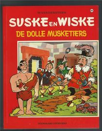 Suske en Wiske VK-89 - De dolle musketiers - sc (1969)