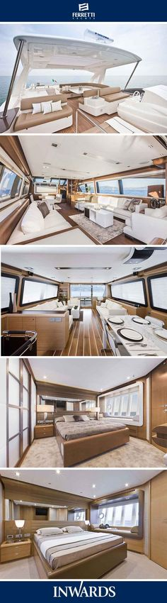 Ferretti Yachts - interior | View the latest models on our website
