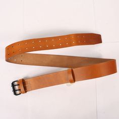 French M1903/14 Brown Leather Equipment Belt