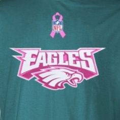 Rico Philadelphia Eagles Breast Cancer Awareness Silver
