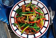 Slimming World's lamb, ginger and broccoli stir-fry