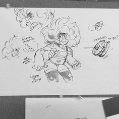 See this Instagram photo by @rebeccasugar • 4,310 likes -- concept art for Smokey Quartz