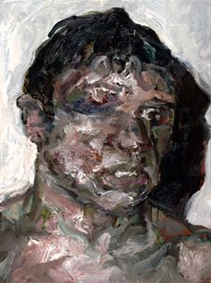 SAM DILLEMANS his wobbly, almost grotesque paintings of boxers are positively alive!!(wkb)
