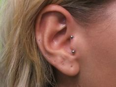 I kinda like this...I wonder how it would look in my right ear when my tragus is already pierced in my left ear?