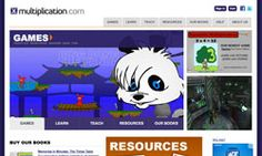 Multiplication activities website