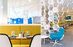 modern, cafe, interior design