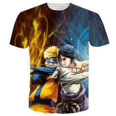 48f5b906dd19 One Piece Anime t shirt Men 3d Printed Naruto t shirts Slim Fit Short  Sleeve t-shirt Mens Brand Clothing Summer Tops Tees