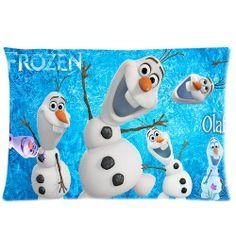 Custom/DIY Design Movie Frozen Olaf Zippered Pillowcase Covers Standard Size 20x30 inches (Two sides) T-07 cartoon,http://www.amazon.com/dp/B00JSN80HK/ref=cm_sw_r_pi_dp_3cYvtb0K5FNZVKZK