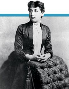 Aletta Jacobs the first Dutch female to be admitted to university. She became a physician and a well known suffragette. It should be noted that in her family (she was one of 11 children) more women were firsts in the Netherlands. A remarkable family