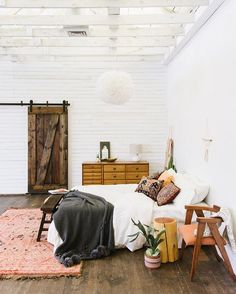 "Bohemian Traders on Instagram: ""A simple boho bedroom to start the day """