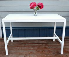 Ana White   Build a Harriet Outdoor Dining Table for Small Spaces   Free and Easy DIY Project and Furniture Plans