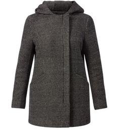 NewLook Black Jersey Coat €24