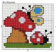 Schema per bavaglino - Pattern 4 bib