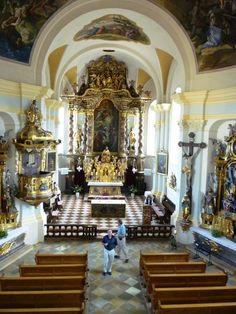 chapel, hellbrunn palace, austria, 6-08.