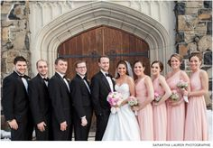 Maplewood Winter Wedding Bridal Party :: Maplewood, NJ :: Samantha Lauren Photographie