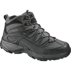 Wolverine Mens Bennett Waterproof SteelToe EH Work Boot Black 095  EW and Work Sock Bundle * Continue to the product at the image link.(This is an Amazon affiliate link and I receive a commission for the sales)