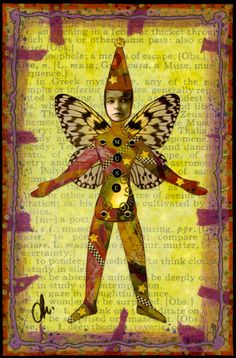 I'll show you some of Ingrid's altered books and Journals. Click on the image to see more pages. #art #craft #altered art