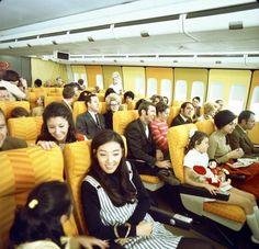 The Elegant Coach Class Yellow Room aboard 747-127 N601BN