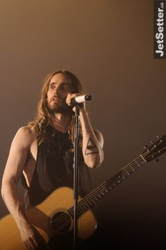 Thirty Seconds To Mars.- Jared Leto, Kiev, Ukranie.- 12-03-2013 #LoveLustFaithDreams